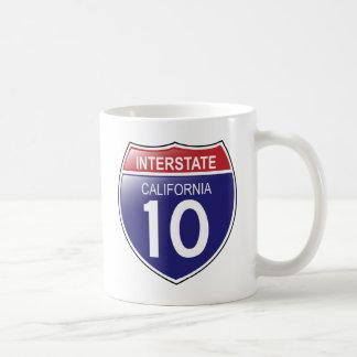 Interstate 10 in California Mug