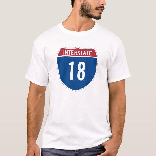 Interstate 18 T-Shirt