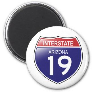 Interstate 19 Arizona Magnet