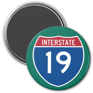 Interstate 19 (I-19) Highway Sign Magnet