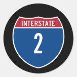 Interstate 2 sticker