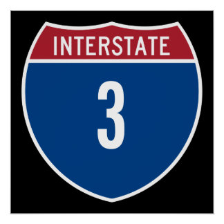 Interstate 3 poster