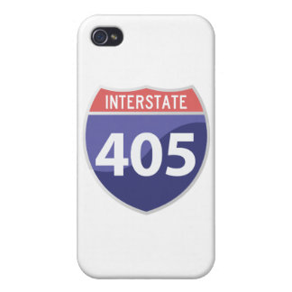 Interstate 405 (I-405) Calif. Highway Road Trip iPhone 4 Case
