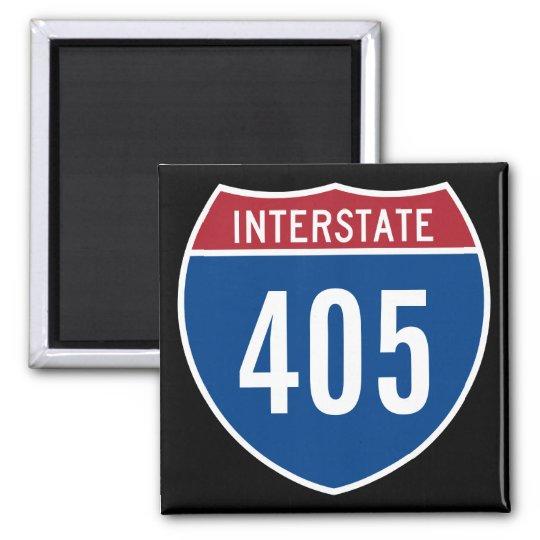 Interstate 405 magnet