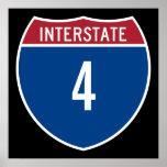 Interstate 4 poster
