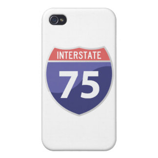 Interstate 75 (I-75) Highway Road Trip iPhone 4 Case