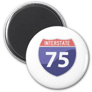 Interstate 75 (I-75) Highway Road Trip Magnet