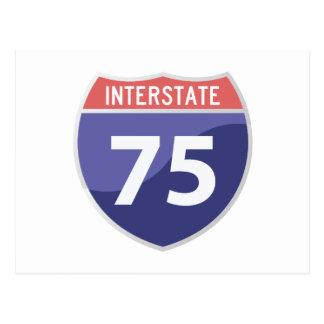 Interstate 75 (I-75) Highway Road Trip Postcard