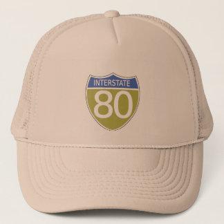 Interstate 80 trucker hat