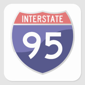 Interstate 95 (I-95) Sticker
