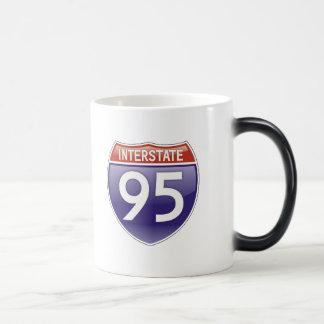 Interstate 95 magic mug