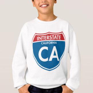 Interstate California CA Sweatshirt