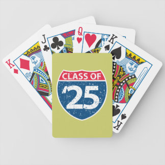 Interstate Class of '25 Playing Cards