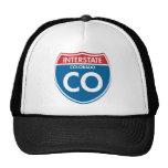 Interstate Colorado CO Trucker Hats
