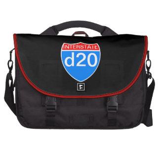 Interstate d20 commuter bags
