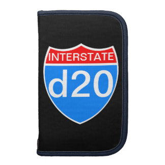 Interstate d20 organizer