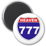 """""""Interstate"""" Heaven 777 Magnets"""