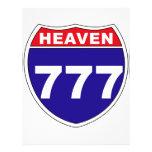 """Interstate"" Heaven 777 Personalized Flyer"