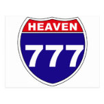"""""""Interstate"""" Heaven 777 Post Cards"""