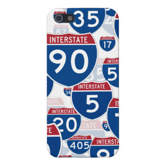 Interstate Highway Signs Cases For iPhone 5