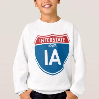 Interstate Iowa IA Sweatshirt
