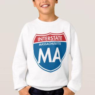Interstate Massachusetts MA Sweatshirt