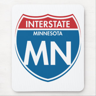 Interstate Minnesota MN Mouse Pad