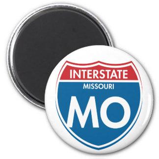 Interstate Missouri MO Magnet