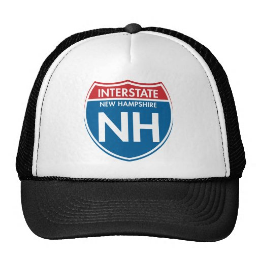Interstate New Hampshire NH Trucker Hat