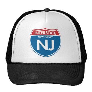 Interstate New Jersey NJ Mesh Hats