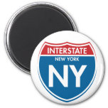 Interstate New York NY Magnets