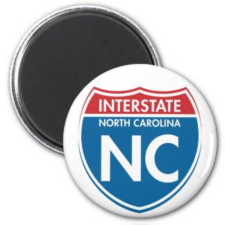 Interstate North Carolina NC Magnet