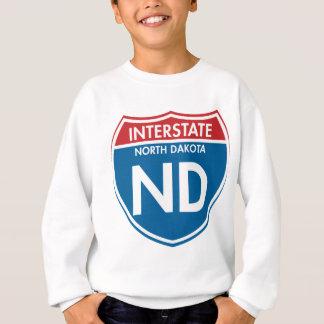 Interstate North Dakota ND Sweatshirt