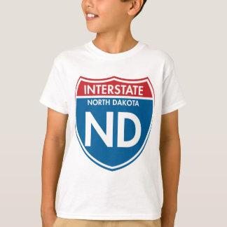 Interstate North Dakota ND T-Shirt