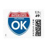 Interstate Oklahoma OK Stamps