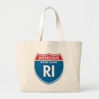 Interstate Rhode Island RI Jumbo Tote Bag