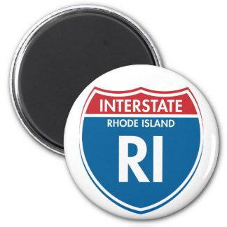 Interstate Rhode Island RI Magnets