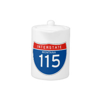 Interstate Sign 115 - Montana