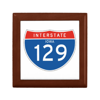 Interstate Sign 129 - Iowa Gift Boxes