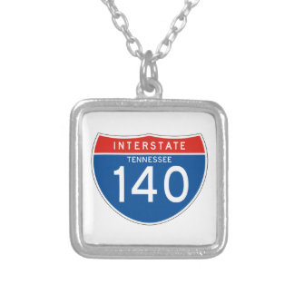 Interstate Sign 140 - Tennessee Necklaces