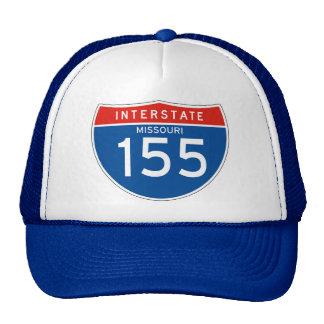 Interstate Sign 155 - Missouri Mesh Hat