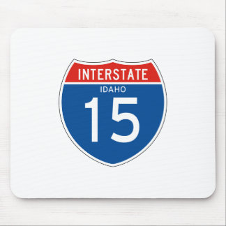 Interstate Sign 15 - Idaho Mouse Pad