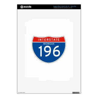 Interstate Sign 196 - Michigan Skins For iPad 3