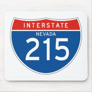 Interstate Sign 215 - Nevada Mouse Pad