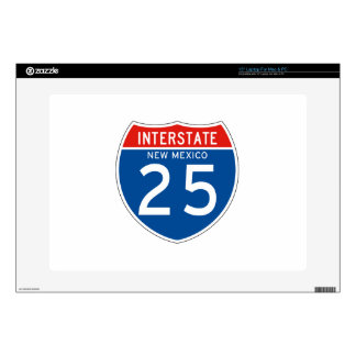 Interstate Sign 25 - New Mexico Laptop Decals