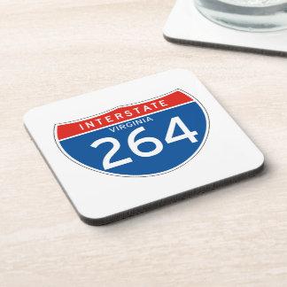 Interstate Sign 264 - Virginia Drink Coaster