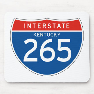 Interstate Sign 265 - Kentucky Mouse Pad