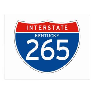 Interstate Sign 265 - Kentucky Postcard