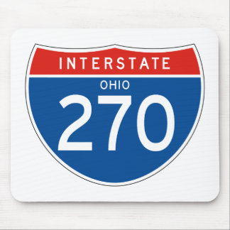 Interstate Sign 270 - Ohio Mouse Pad