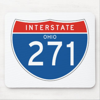 Interstate Sign 271 - Ohio Mouse Pad